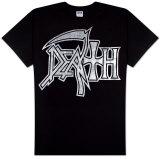 Death - Silver Logo Tシャツ