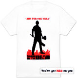 Shaun of the Dead - Silhouette Camiseta