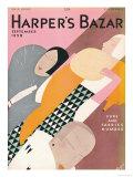 Harper's Bazaar, September 1929 ポスター