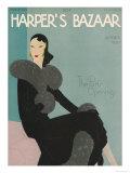 Harper's Bazaar, October 1930 ポスター