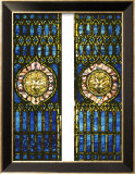 Two Leaded and Plated Glass Windows, circa 1910 Prints by  Tiffany Studios