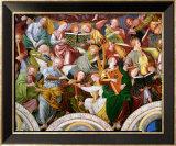 The Concert of Angels, 1534-36 (Detail) Plakat af Gaudenzio Ferrari