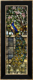 "Detail of Right Side of ""Twilight"", a Leaded and Plated Glass Window, 1897 Prints by  Tiffany Studios"