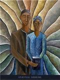 Spiritual Bonding Print by Nathaniel Barnes