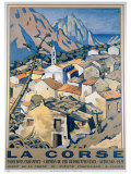 La Corse Giclee Print by Andre Strauss
