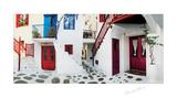 Colorful Doors Plakater af George Meis