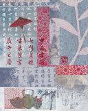 Schirm Kunstdrucke von Helene Druvert