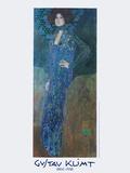 Portrait of Emilie Floege Láminas por Gustav Klimt