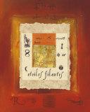 Pastel Composition Kunstdrucke von Helene Druvert
