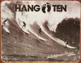Hang Ten Blechschild