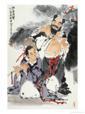 The Eight Immortals Part 2 Giclee Print by Wang Kae