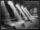 Gare Grand Central, New York Reproduction sur toile encadrée