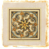 Crackled Cloisonne Tile II Premium Giclee Print by Chariklia Zarris