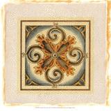 Crackled Cloisonne Tile VI Premium Giclee Print by Chariklia Zarris