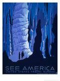 Reclameposter See America Schilderijen van Alexander Dux