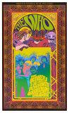The Who, konsert Affischer av Bob Masse