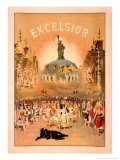 Excelsior Posters van  Forbes Co.
