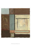Chinese Scroll in Blue IV Arte por  Mauro