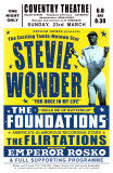 Stevie Wonder in Concert, 1969 Posters av Dennis Loren