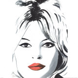 Bardot Posters by Irene Celic