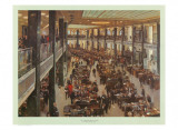 The Underwriting Room at Lloyd's Posters by Terence Cuneo