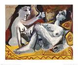 The Two Friends, 1965 Plakater av Pablo Picasso