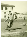 Swiss Ac Rovers Soccer Player Poster Giclée-Druck von Photo Archive Underwood