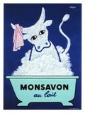 Monsavon au Lait ジクレープリント : レイモン・サヴィニャック