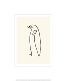 Pingvinen, ca. 1907|Le Pingouin, c.1907 Silketrykk av Pablo Picasso
