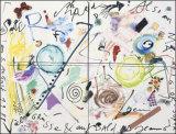 Salu Richard, c.1988 Poster af Jean Tinguely