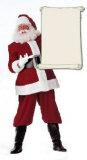 Santa Claus Cardboard Cutouts
