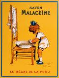 Savon Malaceine Blechschild