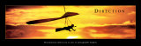 Direction: Hang Glider Poster