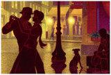 Flirt Print by Denis Nolet