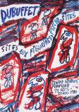 Sites aux Figurines Psycho-Sites Reproduction pour collectionneur par Jean Dubuffet