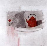 Tetera Roja Posters par Antoni Dura