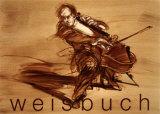 Le Violoncelliste Poster di Claude Weisbuch