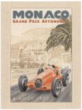 Grand Prix Automobile, c.1937 Prints by Bruno Pozzo