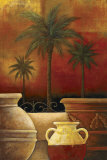 Sunset Palms II Prints