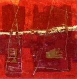 Bouees Poster von Christine Vannier