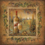 Villa Tuscan Affiches par Elaine Vollherbst-Lane