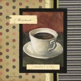Drinking Hazelnut Coffee Juliste tekijänä Carol Robinson