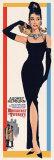 Filmposter Breakfast At Tiffany's, Audrey Hepburn Poster