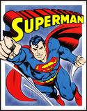 Supermand Blikskilt