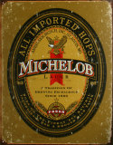 Michelob Blechschild