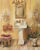 French Bath III Prints by Marilyn Hageman