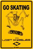 Go Skating Plåtskylt