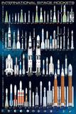 International Space Rockets Affiches