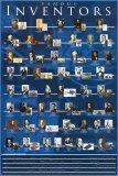 Inventeurs célèbres Poster