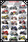 Road Racers Plakater